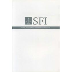SFI. St. Philaret's christian orthodox institute. Буклет СФИ на английском языке