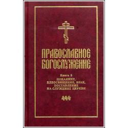 Православное богослужение. Книга 5. Последования таинств покаяния...
