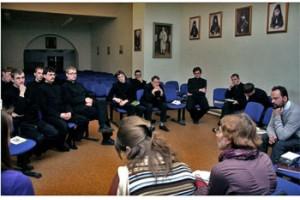 Группа паломников Свято-Филаретовского института и Преображенского братства посетила Томск