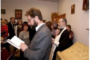 Традиционный новогодний молебен в Свято-Филаретовском институте