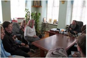 Встреча молодёжи с архиепископом Йошкар-Олинским и Марийским Иоанном