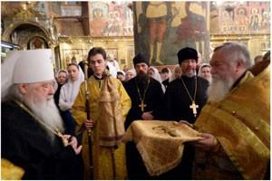 В Кремле впервые после раскола XVII века отслужили литургию древним чином