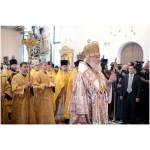 Предстоятель Русской Церкви совершил освящение храма-памятника Воскресения Христова в Катыни