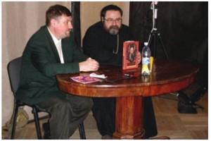 В Петербурге прошла презентация книги Бориса Колымагина «Сталинской премии архиепископ»