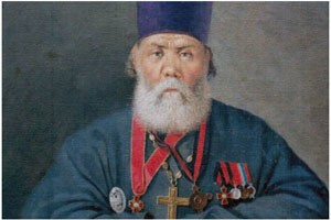 В Якутии открыт памятник священнику, переводившему священные тексты на якутский язык