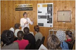 Выставка «Граждане Божьего Града» - в поселке Саблино